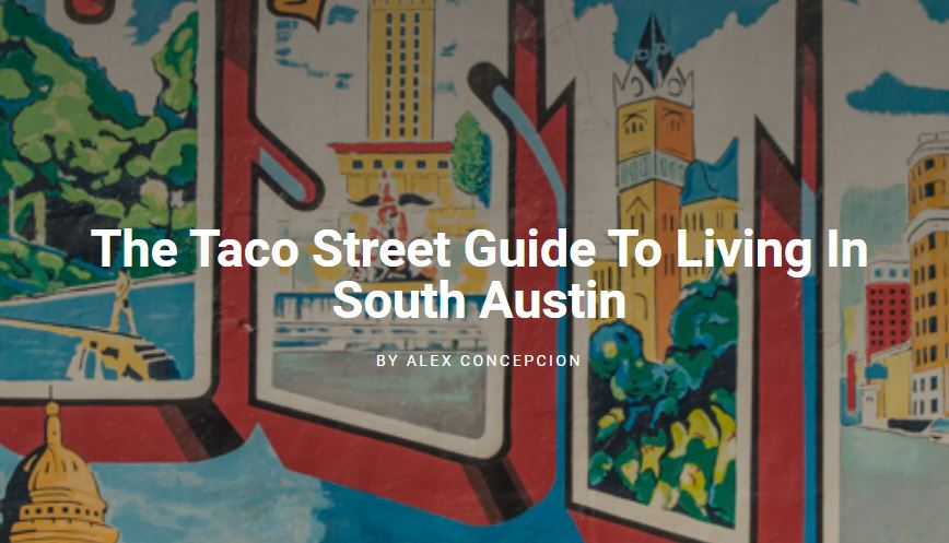 Guide to Living in South Austin